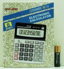 Калькулятор 800 (SDC-800)8 разрядов средний