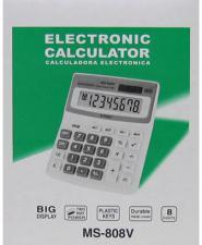 Калькулятор 808V (MS-808V)8 разрядов средний