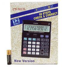 калькулятор 5812 (CT-5812L) 12 разр. больш. экран