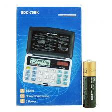 калькулятор 70BK (SDC-70BK) 8 разр. раскладной