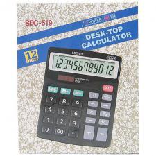 Калькулятор 519 (SDC-519) 12 разрядов средний