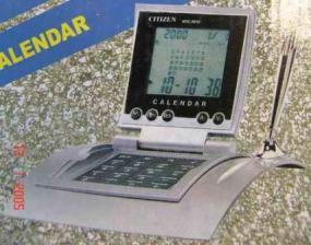 Калькулятор CITIZEN 9810 календарь, будильник