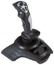Джойстик Gembird JSK-420FightStick 3D, USB,вибрация, 12 прогр. кнопок,Throttle-контроллер