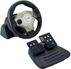 руль Genius Twin Wheel F1 PC, с педалями, Play St 2