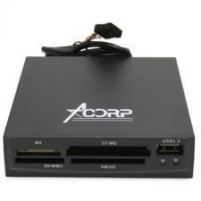 картридер ACORP CRIP200-B USB2.0 (всё в 1+USBпорт) встраиваемый в компьютер