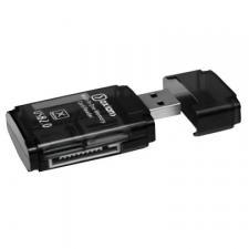 картридер OXION ,SD,MS,M2,TF(microSD/miniSD) до 64Гб (OCR006BK)