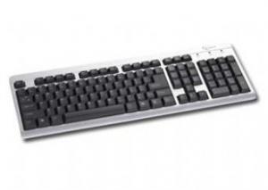 Клавиатура Gembird KB-8300UM/U-SB/BL-R, USB мультимедиа