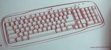 Клавиатура Genius Slim Star 110 (PS/2)