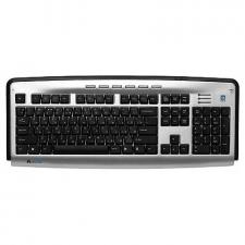 Клавиатура A4Tech KLS-23MUU (USB) слим+7 доп. клав