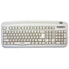 Клавиатура Oklick 300M (PS/2+USB)+USB порт