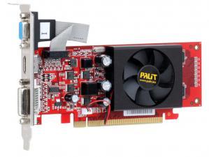 видеокарта nVidia PCI-E PalitGF210 512Mb DDR2(NE221000FHD56) 589/1000 DVI/VGA/HDMI