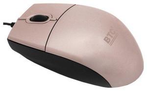 Мышь BTC M859UL-Pink, USB оптич. 800 dpi розовая лазерная
