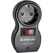 Фильтр питания DEFENDER Voyage 100 1вх 2USB компактный для путешественников