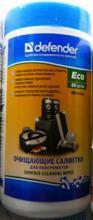 Влажные чистящие салфетки DEFENDER30300 для оргтехники