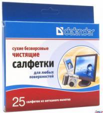 Салфетки Defender 120*150мм CLN30604(сухие безворс.)