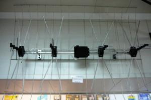 Антенна ТВ всеволн уличная(решетка) без усилителя