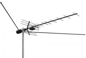 Антенна ТВ ЭФИР (L035.09) всеволновая с усилителем на несколько ТВ