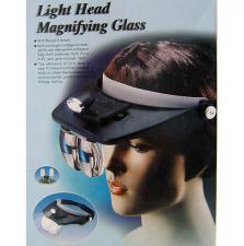 "очки увелич. №81001А(1.2""/1.8""/2.5""/3.5)2 ламп."