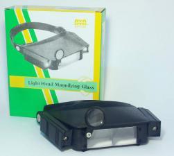 очки увелич. №81007 (LP-23 II) с 2 ламп.