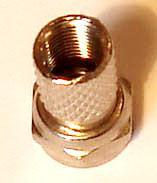 антенный F-разъем позол
