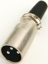 разъем CANON(XLR 3P)штекер микрофонный кабельный
