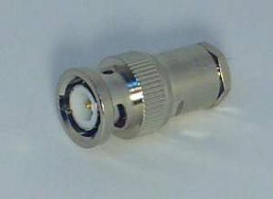 Штекер BNC для пайки зажимной прямой (RG-6/U) 10BASE2
