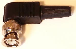 Штекер BNC угловой на винте 10BASE2