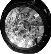 Фонарь КОСМОС 2000AP (12 светод.и 15W галоген) аккум