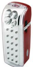 Фонарь КОСМОС 118 LED(18+4 св)светильн.аккум 4V4.5MAh