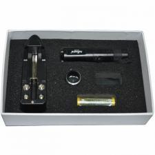 Фонарь GL-K12/15 CREE-lamp Pailide bk/AA+acc/трансф аккумуляторный