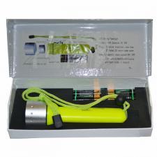 Фонарь 1 светод. 1W/3W KSK мощн. (4AA)(FA1108-11,GLK199) подводный