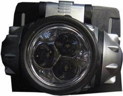 Фонарь налоб 3 светод. 0,5W 193 мощн.