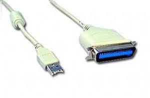 Переходник LPTпорт->USBпорт Gembird CUM360 C36M/USBAM 1,8м