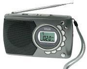 Радиоприемник VITEK-3583 цифровой наушники 9 диапазонов 2D батарейки