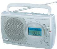 Радиоприемник VITEK-3585 сетевой цифровой 12 диапазонов