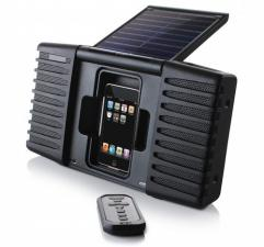 Колонки активные ETON SOULRA для I-PAD,I-PHONE солнечная батарея аккумулятор
