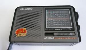 Радиоприемник At-806 сет (AC,TV,AM,9SW)