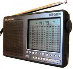 Радиоприемник DEGEN DE-1103 SSB любительские КВ диапазоны