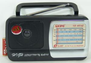 Радиоприемник KB-408 сетевой 4 диапазона