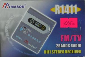 Радиоприемник MASON 1411(TV) стерео