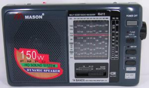 Радиоприемник MASON 411(TV) стерео сетевой