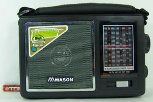 Радиоприемник MASON 893 сетевой (TV,2SW,LW)