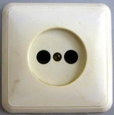 Розетка сетевая закр пр (88218)(РС16-038)