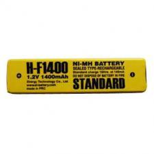 Аккумулятор промышленный ExT H-F1400 BL1 (1.2V,1400mAh) для а/пл, MP3