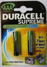 Аккумулятор HR03(AAA) DURACELL 1000 (950)mA/ч