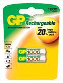 Аккумулятор HR03(AAA) GP 1000 мА/ч