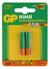 Аккумулятор HR03(AAA) GP 650 мА/ч
