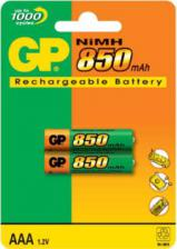 Аккумулятор HR03(AAA) GP 850 мА/ч