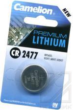Батарейка CR2477 CAMELION BL-1(литиевая,3V)