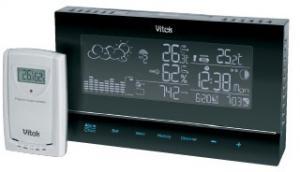 метеостанция VITEK-6400 беспроводная,часы